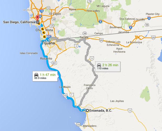 mapa_ensenada_sandiego_millas